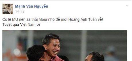 'MU nen sa thai Mourinho, moi HLV Hoang Anh Tuan ve dan dat' - Anh 2