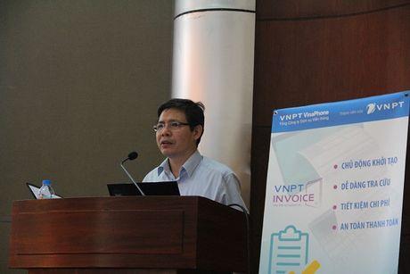 VNPT gioi thieu giai phap Hoa don dien tu cho can bo thue tren dia ban Ha Noi - Anh 1