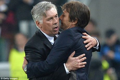 Ancelotti: 'Khong the ep Conte vo dich Premier League ngay lap tuc' - Anh 11