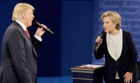 Bau cu My 2016: Ung cu vien H.Clinton tiep tuc noi rong khoang cach - Anh 1