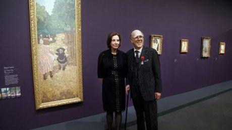 Cap doi My hien tang bo suu tap nghe thuat tri gia 350 trieu euro cho Bao tang Musee d'Orsay - Anh 1
