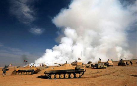 Tho Nhi Ky xac nhan tham gia chien dich Mosul bat chap Iraq phan doi - Anh 1