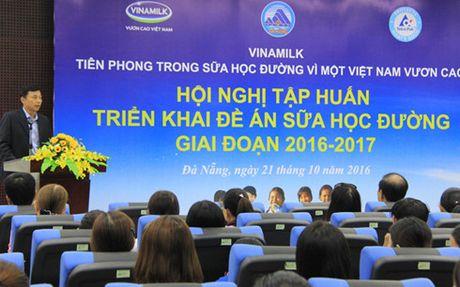 Vinamilk trien khai Chuong trinh sua hoc duong tai TP Da Nang - Anh 1