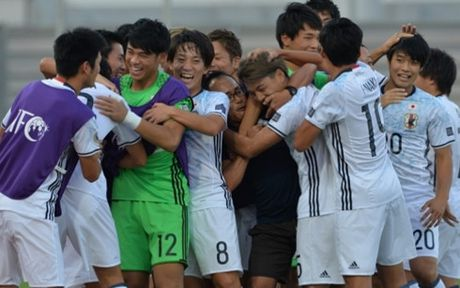 De bep U19 Tajikistan, U19 Nhat Ban gap U19 Viet Nam o ban ket - Anh 1