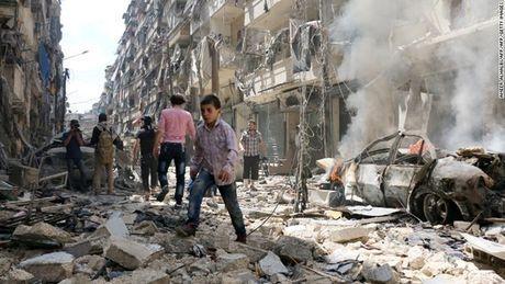 Ngoai truong Nga, My nhat tri tim cach giai quyet khung hoang o Aleppo - Anh 1