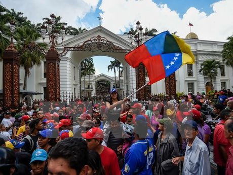 Venezuela thong bao thoi diem tien hanh doi thoai dan toc - Anh 1