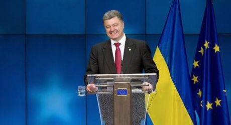 Poroshenko: Cach duy nhat giai quyet mien Dong Ukraine - Anh 1