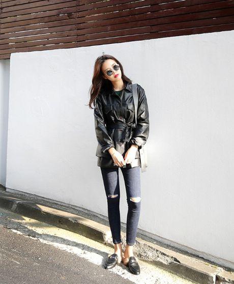 Skinny jeans, 'vu khi' giup vong ba nay no - Anh 2