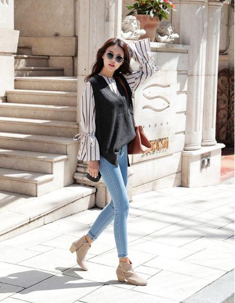 Skinny jeans, 'vu khi' giup vong ba nay no - Anh 5