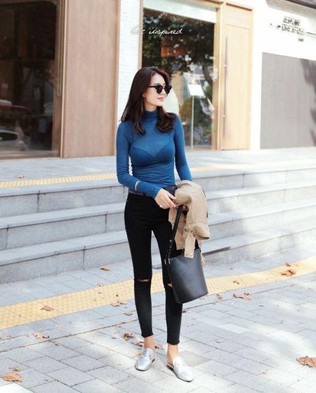 Skinny jeans, 'vu khi' giup vong ba nay no - Anh 7