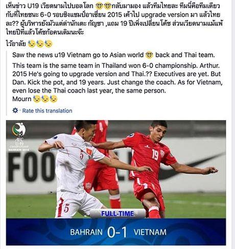 LDBD Thai Lan giat minh, yeu cau nghien cuu ky U19 Viet Nam - Anh 2