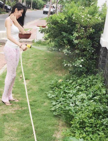 Ngam biet thu trieu do cua Thuy Tien – Cong Vinh trong rau mat mat - Anh 1