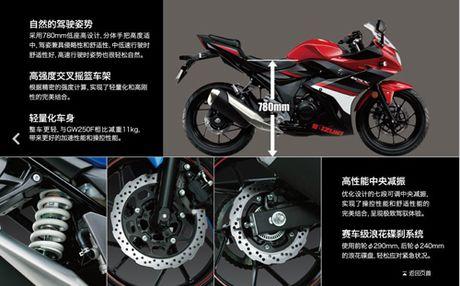 Suzuki GSX-250R chinh thuc ra mat, hop so 6 cap - Anh 12