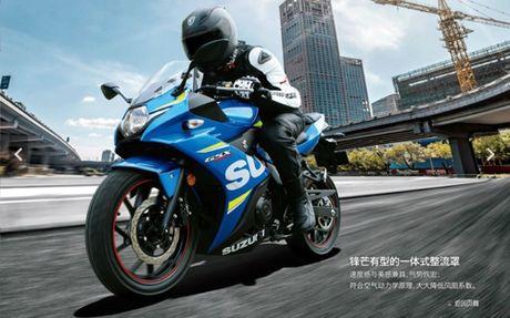 Suzuki GSX-250R chinh thuc ra mat, hop so 6 cap - Anh 1