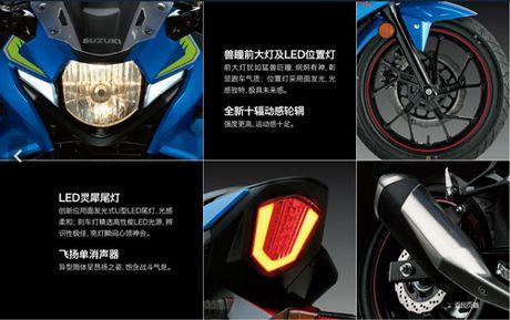 Suzuki GSX-250R chinh thuc ra mat, hop so 6 cap - Anh 4