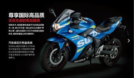 Suzuki GSX-250R chinh thuc ra mat, hop so 6 cap - Anh 6
