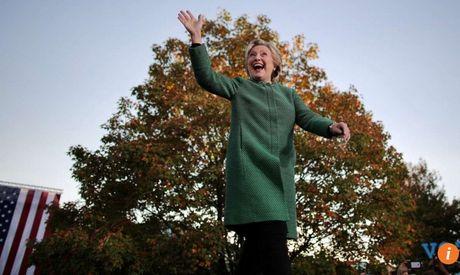 Bau cu My: Hillary Clinton ky vong thang lon tai cac bang quyet dinh - Anh 1