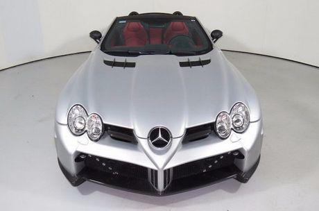Sieu xe Mercedes SLR McLaren do 'sieu khung' gia 10,7 ty - Anh 2