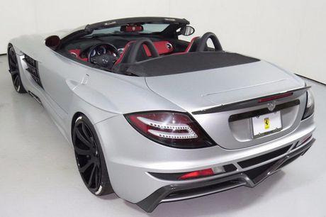 Sieu xe Mercedes SLR McLaren do 'sieu khung' gia 10,7 ty - Anh 4