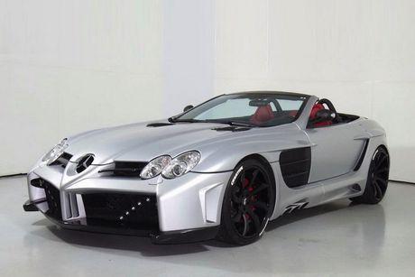 Sieu xe Mercedes SLR McLaren do 'sieu khung' gia 10,7 ty - Anh 5