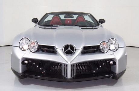 Sieu xe Mercedes SLR McLaren do 'sieu khung' gia 10,7 ty - Anh 6