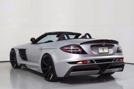 Sieu xe Mercedes SLR McLaren do 'sieu khung' gia 10,7 ty - Anh 8