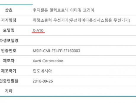 May anh gia re Fujifilm X-A10 sap sua ra mat - Anh 1