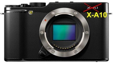May anh gia re Fujifilm X-A10 sap sua ra mat - Anh 2