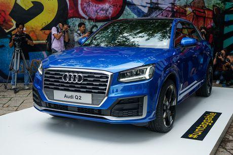 Audi Q2 ra mat thi truong Viet Nam voi dong co tang ap 1.4L - Anh 1