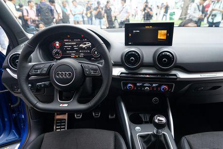 Audi Q2 ra mat thi truong Viet Nam voi dong co tang ap 1.4L - Anh 4