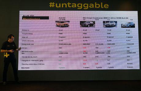 Audi Q2 ra mat thi truong Viet Nam voi dong co tang ap 1.4L - Anh 7