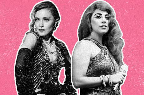 """Lady Gaga khoi lai """"thu cu"""" voi Madonna - Anh 1"""