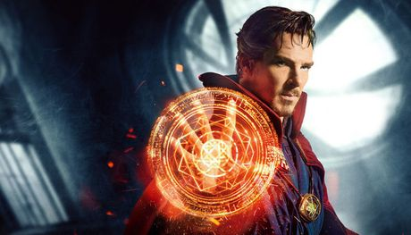 Cuoi vo bung voi cong viec lam them cua phu thuy toi thuong Doctor Strange - Anh 1