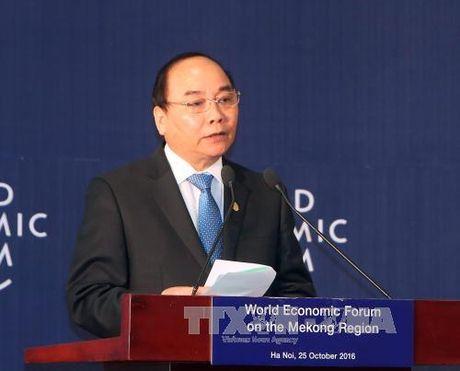 Toan van bai phat bieu khai mac cua Thu tuong tai WEF ve khu vuc Mekong - Anh 1