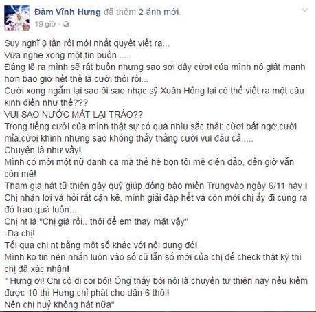 Mr Dam buc xuc vi bi nghi ngo 'rut ruot' tien ung ho mien Trung - Anh 2
