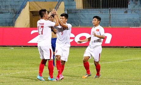 Viet Nam dai chien Nhat Ban o ban ket giai U19 chau A - Anh 1