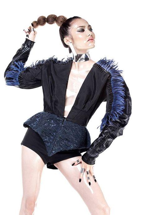 NTK Cong Tri he lo BST se trinh lang tai Vietnam International Fashion Week - Anh 4