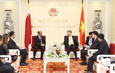 Bo truong To Lam tiep Dai su Iran, Palestine va Qatar - Anh 3