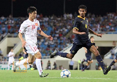 U19 Viet Nam du World Cup: Thang hoa nho bau Duc, Cong Phuong - Anh 1