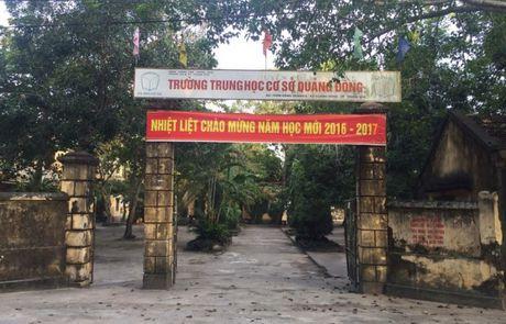 TP Thanh Hoa: Thay giao THCS danh hoc sinh bi thuong - Anh 1