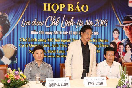 Che Linh 'gay sot' khi lan dau ngau hung song ca cung Quang Linh - Anh 1