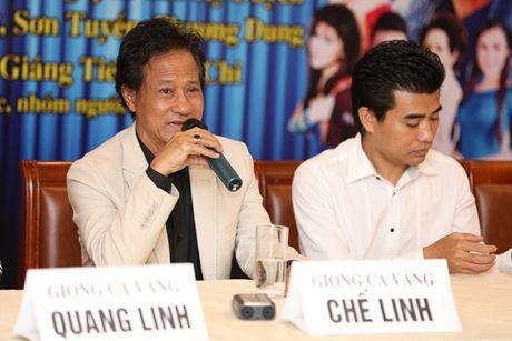 Che Linh 'gay sot' khi lan dau ngau hung song ca cung Quang Linh - Anh 2