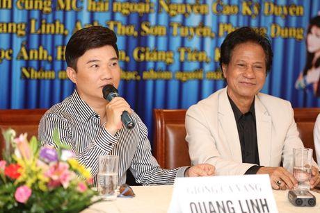Che Linh 'gay sot' khi lan dau ngau hung song ca cung Quang Linh - Anh 3