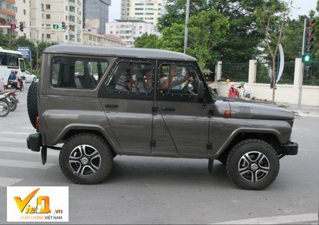 O to UAZ Patriot, UAZ Hunter, UAZ Pickup: Hao huc cho gia chinh thuc! - Anh 3