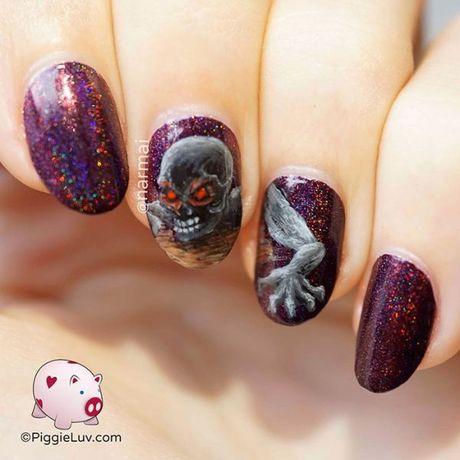 Mong tay mang mau sac kinh di cho mua Halloween - Anh 11