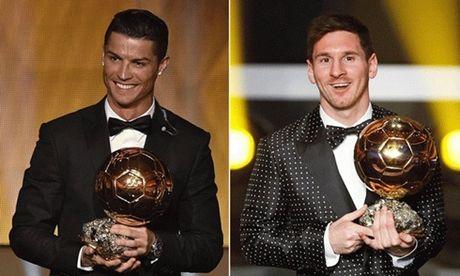 Messi de bep Ronaldo de 'gianh' Qua bong vang chau Au tren Marca - Anh 1