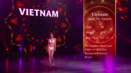 Nguyen Thi Loan toa sang tai Ban ket Hoa hau Hoa binh Quoc te - Anh 6