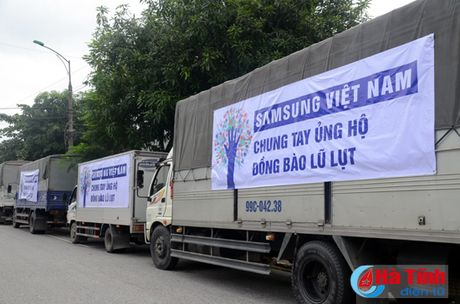 Samsung Viet Nam se ho tro 6 ty xay nha cho nguoi dan vung lu - Anh 1