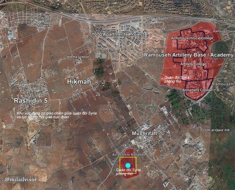 Video chien su Aleppo: 12.000 tay sung thanh chien sap vao bao lua - Anh 1