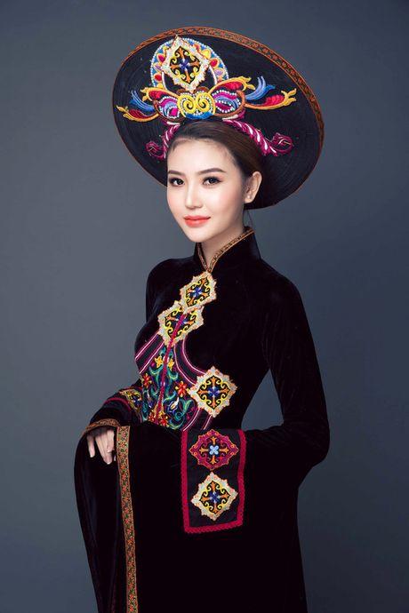 "Ngoc Duyen dang quang ""Nu hoang Sac dep Toan cau 2016"" - Anh 8"